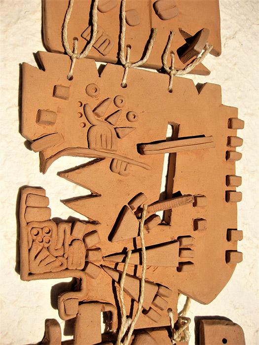 Ceramiche artistiche Accordi di Pace dettaglio 2