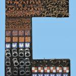 Ceramiche artistiche Codici Ritrovati B