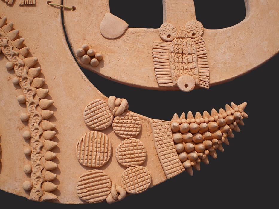 Ceramiche artistiche Complessità dell'anima dettaglio