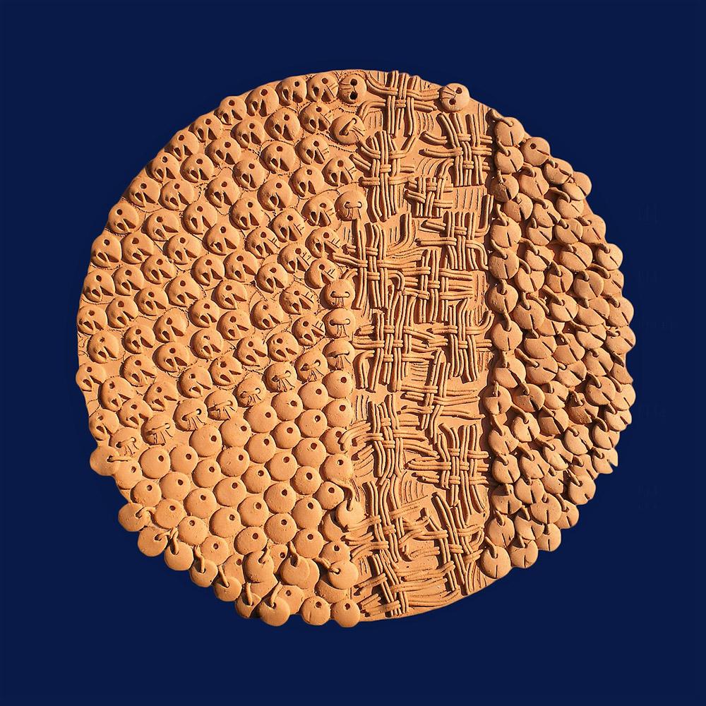 Ceramiche artistiche Grappoli Rotondi e Intrecci