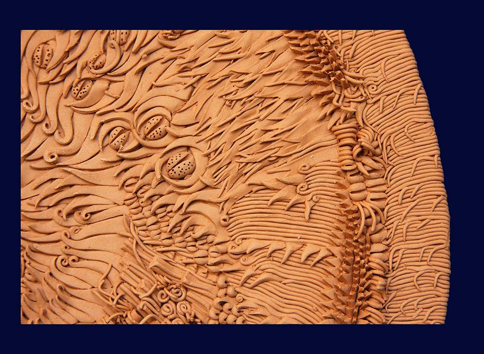 Ceramiche Artistiche Madre Terra Generosa dettaglio 2