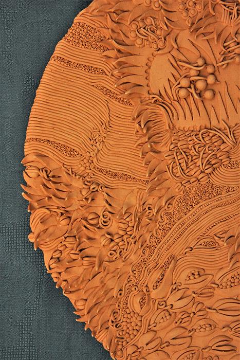 Ceramiche Artistiche Madre Terra Generosa dettaglio 3