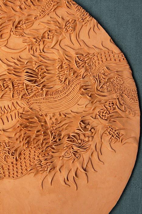 Ceramiche Artistiche Madre Terra Generosa dettaglio 4