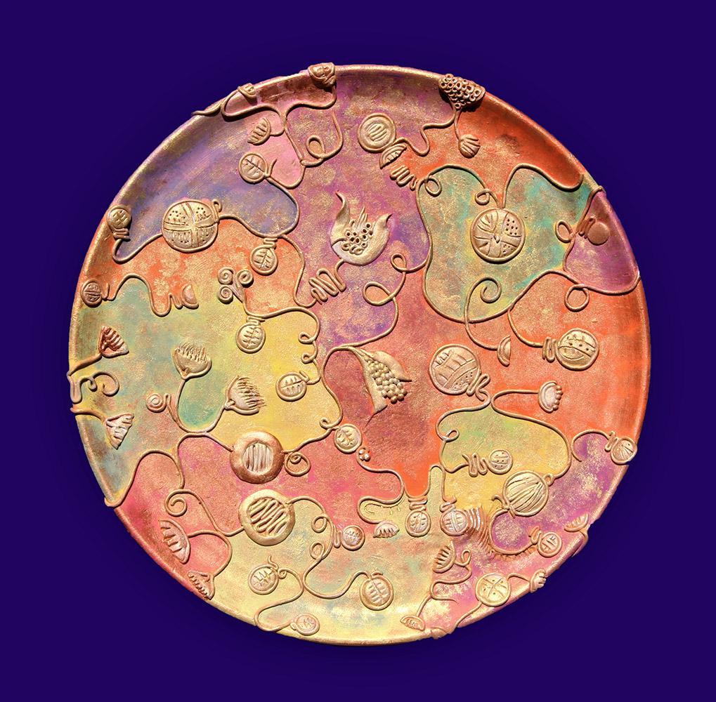 Ceramiche artistiche Pensieri Dorati
