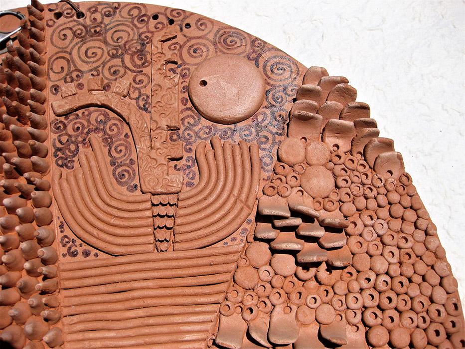 Ceramiche Artistiche Riciclaggio e Urbanizzazione dettaglio
