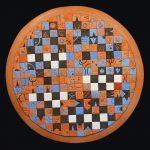 Ceramiche artistiche Scacchiera di Linguaggi