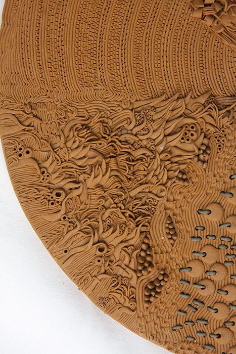 Ceramiche Artistiche Tessitura dettaglio 2