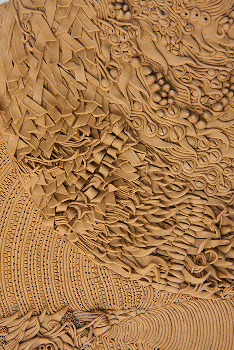 Ceramiche Artistiche Tessitura dettaglio 3