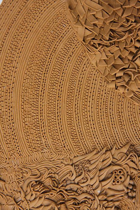 Ceramiche Artistiche Tessitura dettaglio 4