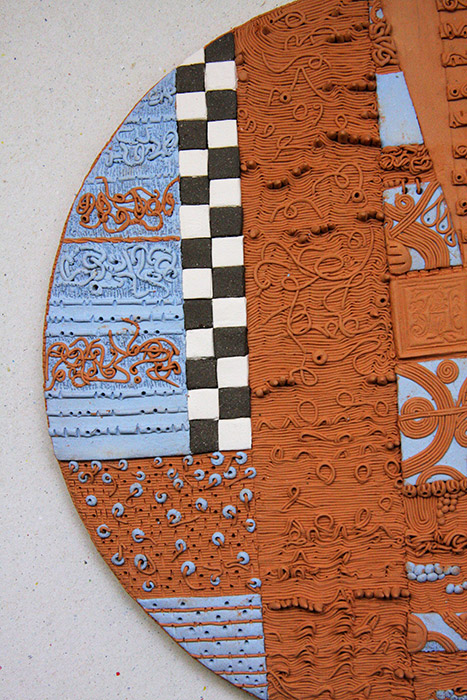 Ceramiche Artistiche Viaggio Emozionale nel Tempo dettaglio 2
